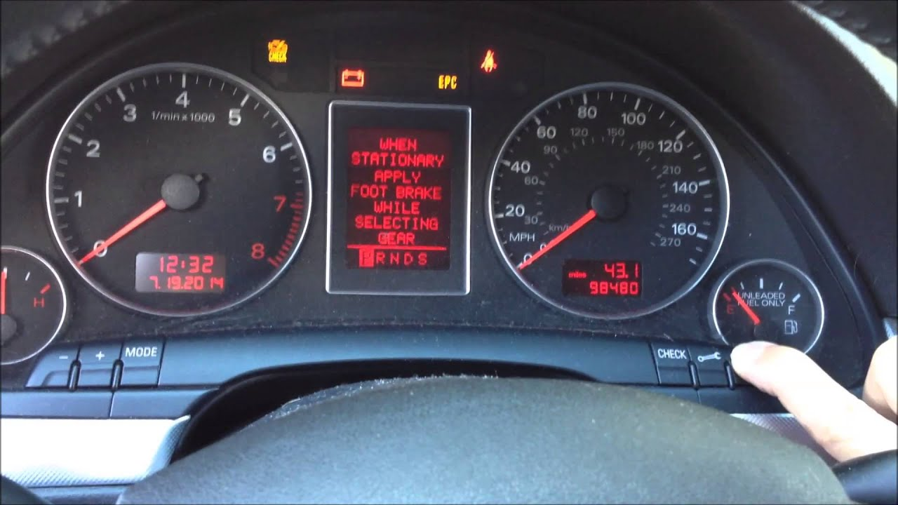 Audi A3 Engine Oil Warning Light Decoratingspecial Com