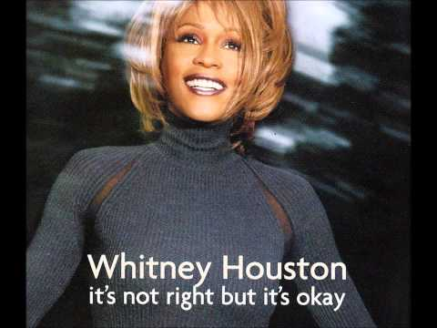 WHITNEY HOUSTON - It's Not Right But It's OK - Argentinian Promo CD Interview