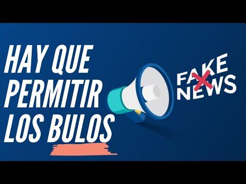 ¿POR QUÉ HAY QUE PERMITIR LOS BULOS Y DIFAMACIONES PARA ACABAR CON LAS FAKE NEWS? | PSOE-Podemos