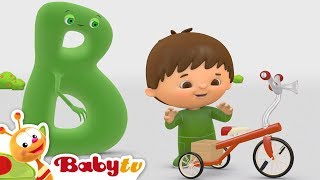 Charlie and the Alphabet | Charlie Meets B | BabyTV
