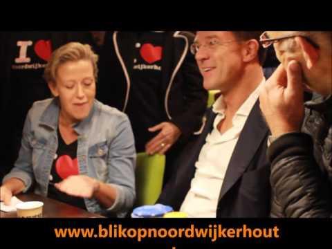 Interview Cilene Geerlings met premier Mark Rutte in Noordwijkerhout