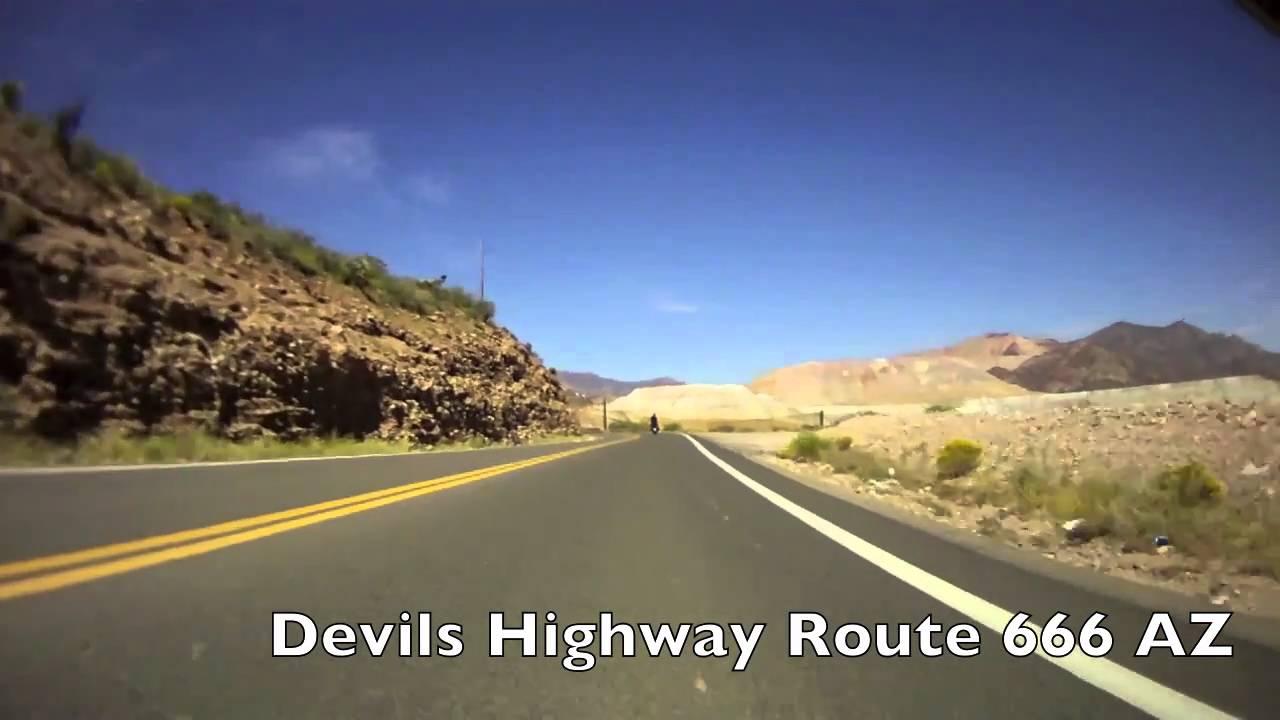 The Unexplained Phenomenon of Highway 666