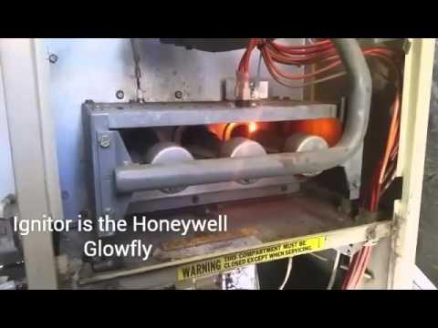 HVAC SERVICE : No Heat Snyder General Furnace - YouTube