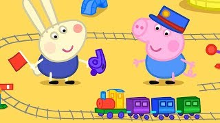 Peppa Pig Nederlands Compilatie Nieuwe Afleveringen 💖 Karel Konijn Komt Spelen 💚 Tekenfilm MP3
