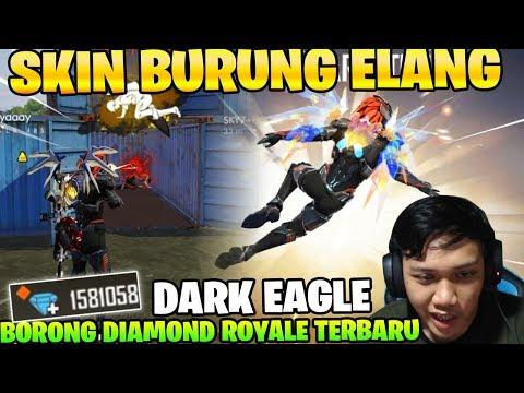 BURUNG ELANG HITAM! RATAIN BERMUDA DENGAN DIAMOND ROYALE BARU! - garena Free  Fire