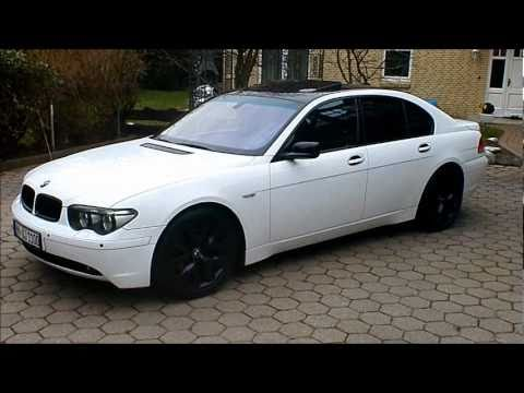 bmw e65 730d alpin wei youtube. Black Bedroom Furniture Sets. Home Design Ideas