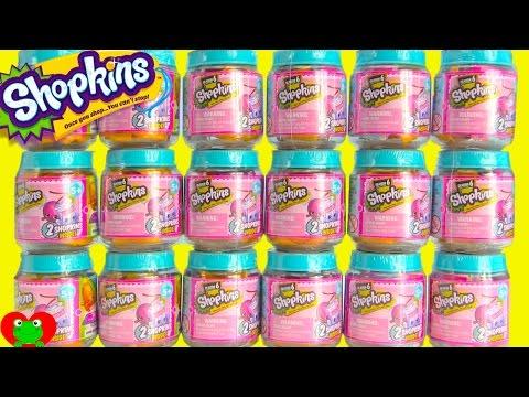 Shopkins Season 6 Jars