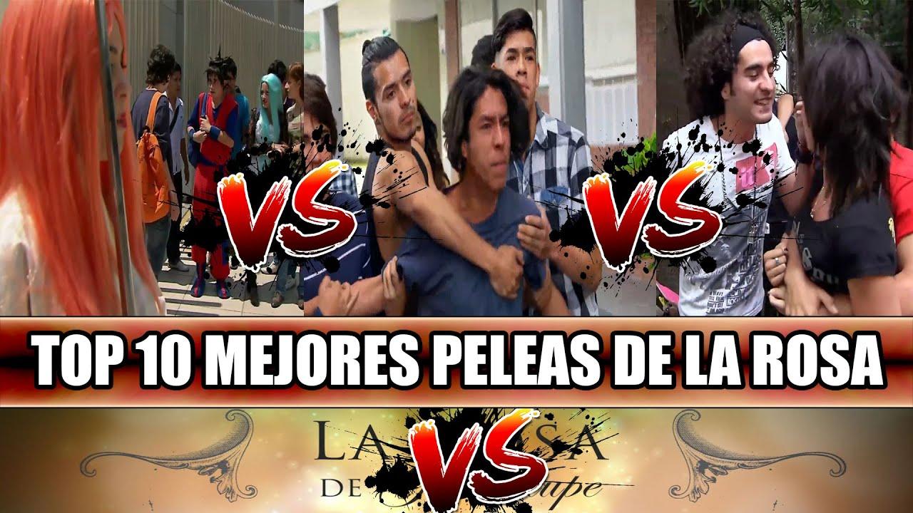 "TOP 10 ""MEJORES PELEAS"" DE LA ROSA DE GUADALUPE | (Según Televisa)"