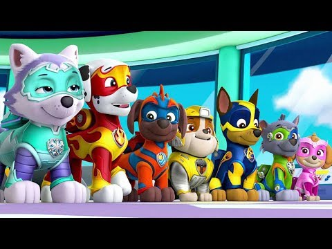 paw-patrol-on-a-roll---all-mighty-pups-rescue-team-ultimate-rescue-mission-|-fun-pet-kids-games