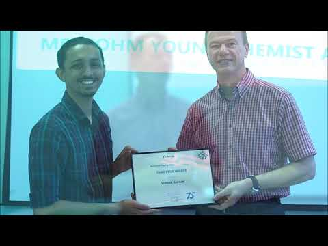 Metrohm SIngapore Young Chemist Award 2018 Video