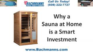 Hybrid Saunas Verona, Madison Infrared Sauna Sale