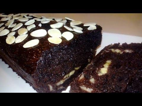gâteau-au-yaourt-chocolat-banane-fondant-(très-facile-et-rapide)👍