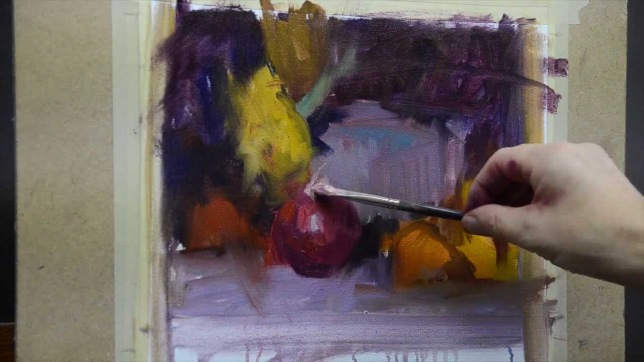 How to paint a better Still Life Online art classes - YouTube