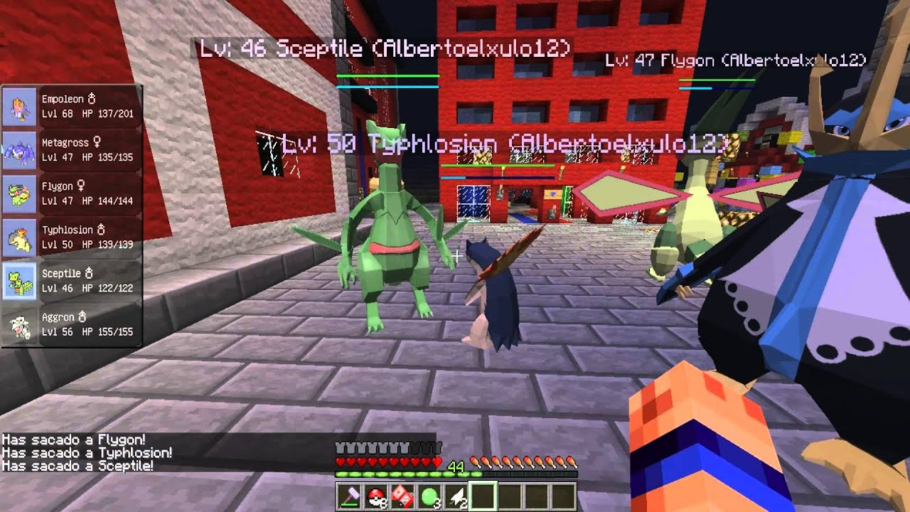 Ip 4 6 Server 1 Minecraft Pixelmon