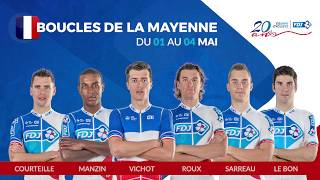 Composition de l'équipe FDJ pour les Boucles de la Mayenne
