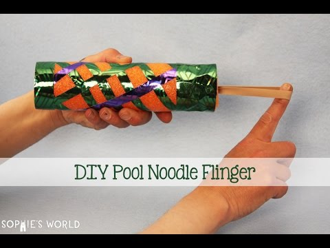 how to make pool noodle youtube