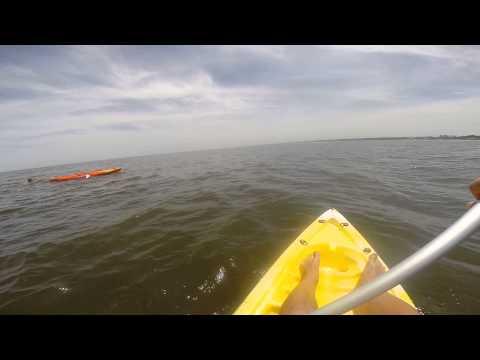 Kayak en playa Mansa de Atlántida - Uruguay (GOPRO HERO 3+)