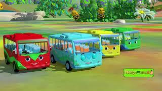 Wheels on the bus marathi rhyme | Marathi kids song | Marathi nursery rhyme | Kiddiestv Marathi