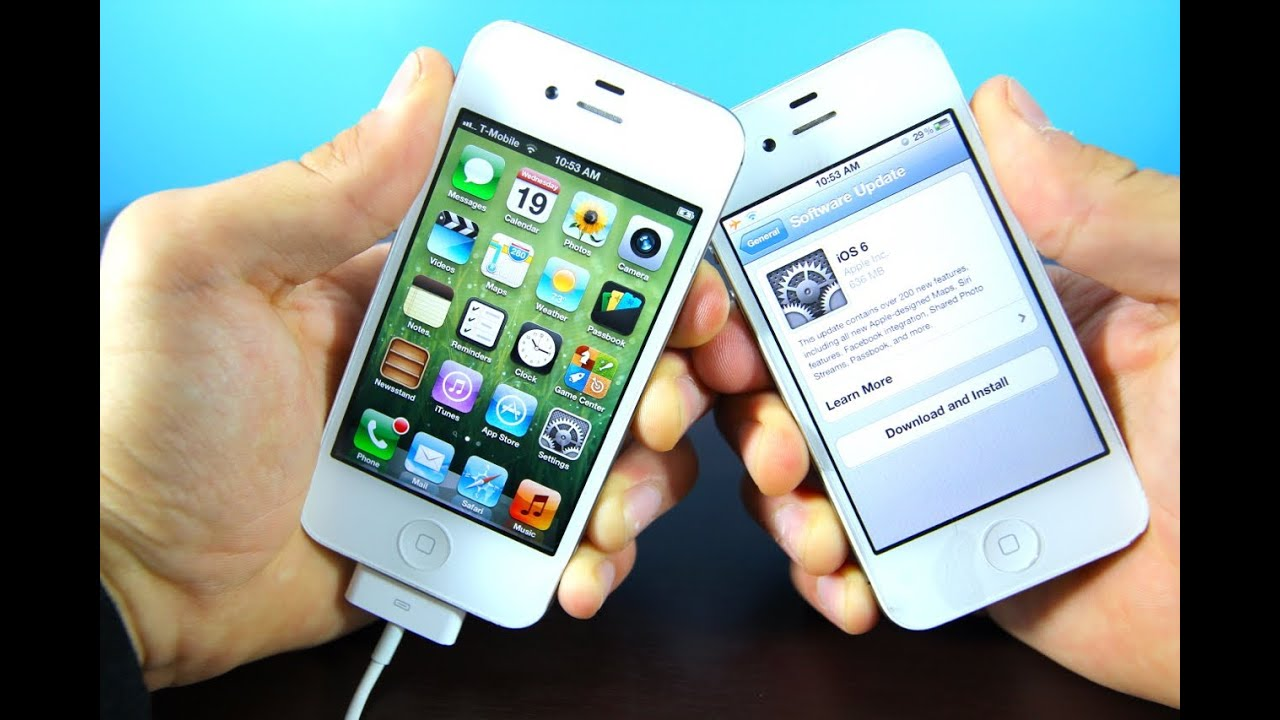 Official iOS 6 Released! iPhone 4S/4/3Gs iPod Touch 4G & iPad 3/2 Jailbreak  & Unlock 6 0 Update