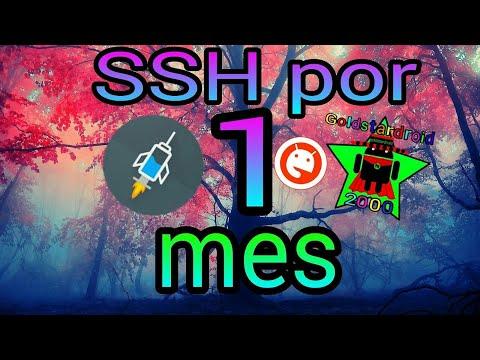 Como crear servidores SSH [Servers] De 1 Mes Para HTTP Injector , APK custom , eProxy