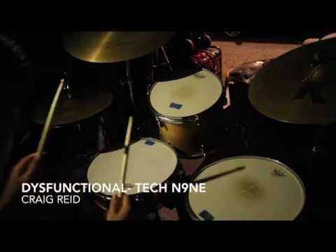 Dysfuntional- Tech N9ne (drum cover) STUDIO QUALITY