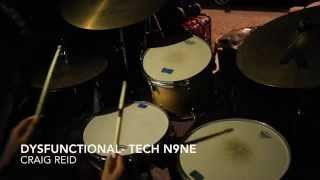 dysfuntional tech n9ne drum cover studio quality