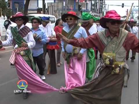 Lao NEWS on LNTV: The national flower of Laos Dok Champa is blooming.4/4/2014