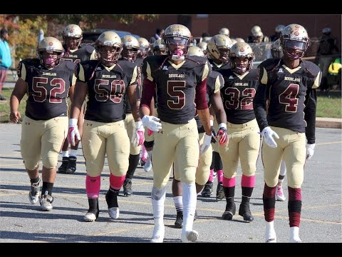 2015 Frederick Douglass High School MD Football Season Highlights