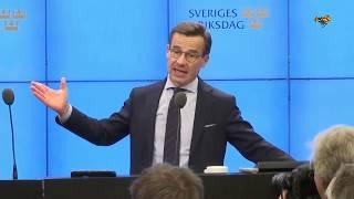 Ulf Kristersson, Moderaterna, nedröstad som statsminister (Expressen TV Politik)