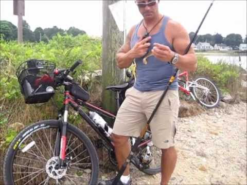 Cape Cod Canal Bike And Fish Youtube