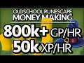 OSRS Money Making Guide - OVER 800k / hr (with MAGIC)