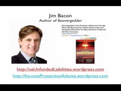 Jim Bacon, Boomergeddon and Jelani Asar, The Unfunded Liabilities Monster