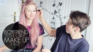 One of Amy Valentine's most viewed videos: Boyfriend Does My Makeup Tag | Amy Valentine