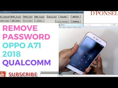 OPPO A71 CPH 1801 PIN PATTERN REMOVE BY MRT DONGLE