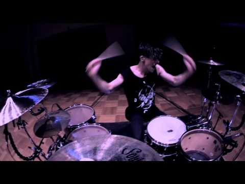 The Amity Affliction - Deaths Hand - Drum Cover