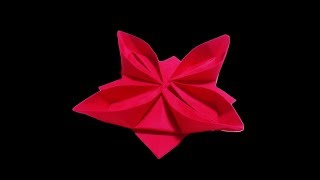 How to make an easy origami flower | Easy & Simple by kheya