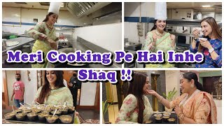 Simar/Dipika's Cooking Challenge| First time in A professional Kitchen| Muh Meetha for new begining