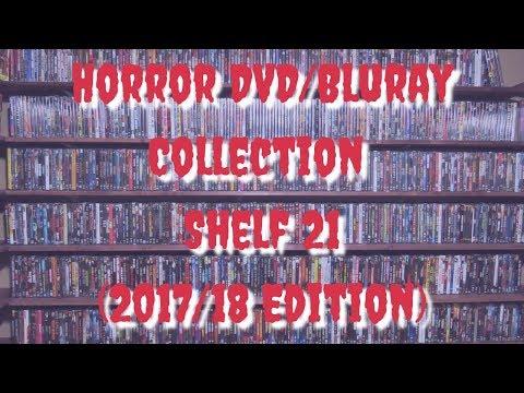 Horror DVD/BluRay Collection: Shelf 21 (2017/18 Edition) | Anchor Bay, 8 Films, Fangoria