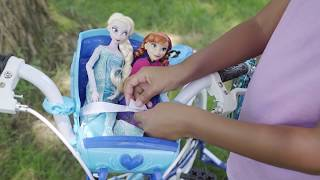 Disney Frozen Bike with Doll Sleigh by Huffy