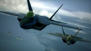 Ace Combat 6 Lockheed Martin F-22 Raptor | Northern Soul RETRO gaming