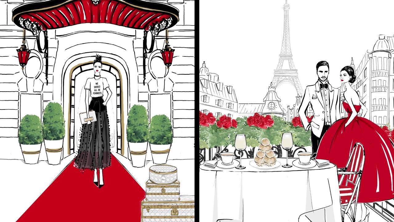 4f2af83557 Paris: Through a Fashion Eye Book Trailer