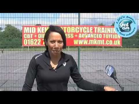 Kelly Holmes - CBT Motorcycle Training & Completion - Get On