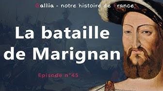 Bataille de Marignan (1515) - Francois Ier défend le duché de Milan
