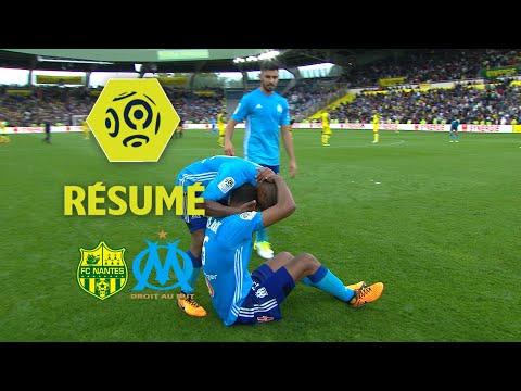 FC Nantes - Olympique de Marseille (0-1)  - Résumé - (FCN - OM) / 2017-18