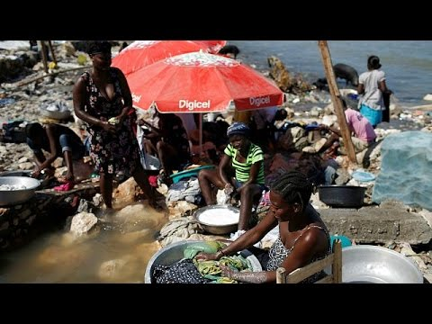 Fears of a cholera outbreak in Haiti amid Hurricane Matthew floods