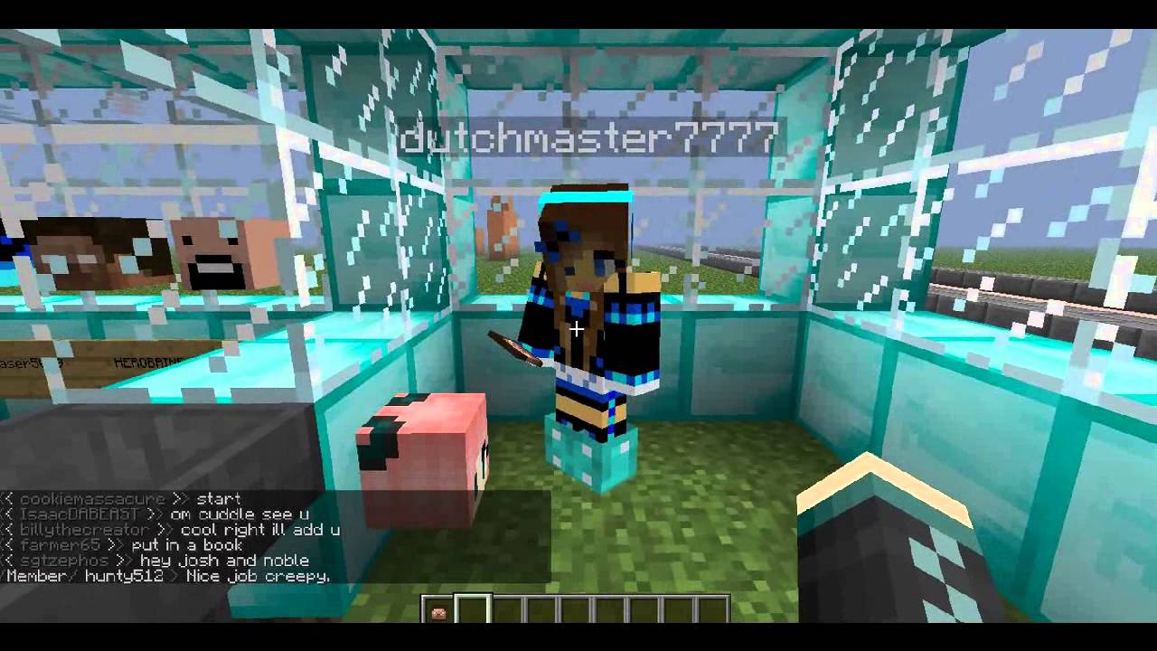 Build A Head >> Minecraft: Head Shop! - Creative Server - YouTube