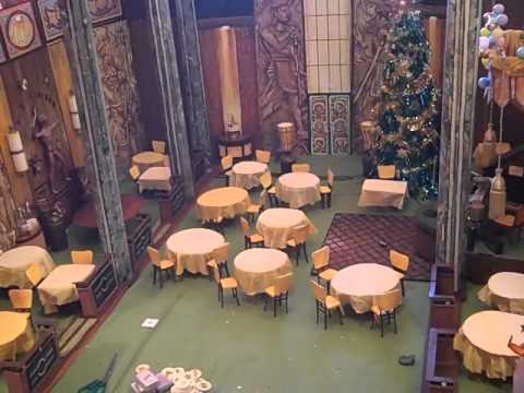 """Poseidon Adventure"" Ballroom Building Part 3! - YouTube"