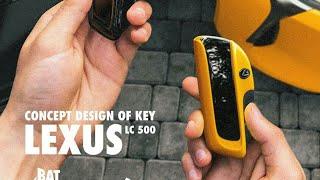 Lexus 500 concept key