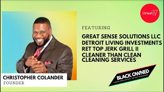BLACK OWNED • S1 E10 • Serial Entrepreneur, Pastor, Published Author Christopher Colander