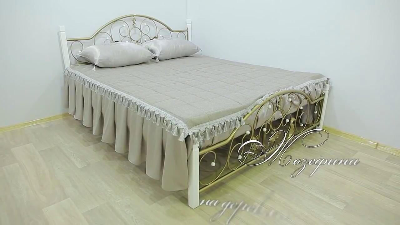 Сборка металлической кровати на примере